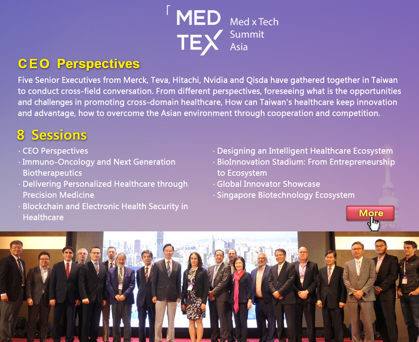 MEDTEX- Med x Tech Summit Asia