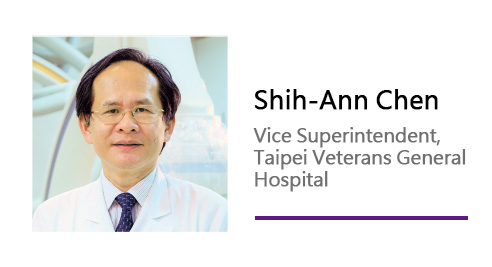 Shih-Ann Chen/ Vice Superintendent, Taipei Veterans General Hospital.