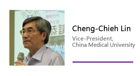 Cheng-Chieh Lin/Vice-President,China Medical University.