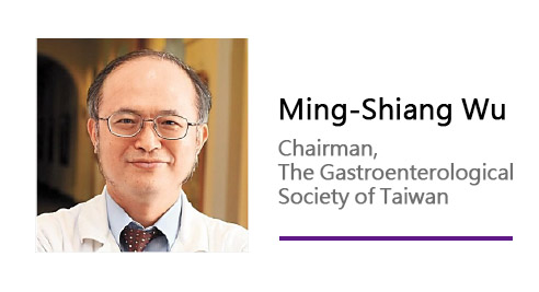 Ming-Shiang Wu/ Chairman, The Gastroenterological Society of Taiwan.