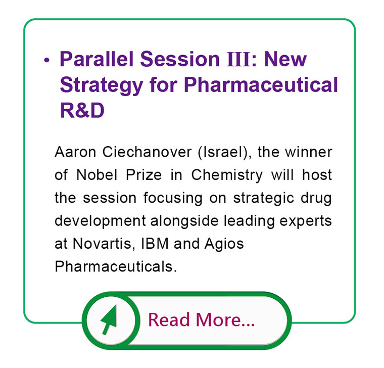 Parallel Session III: New Strategy for Pharmaceutical R&D
