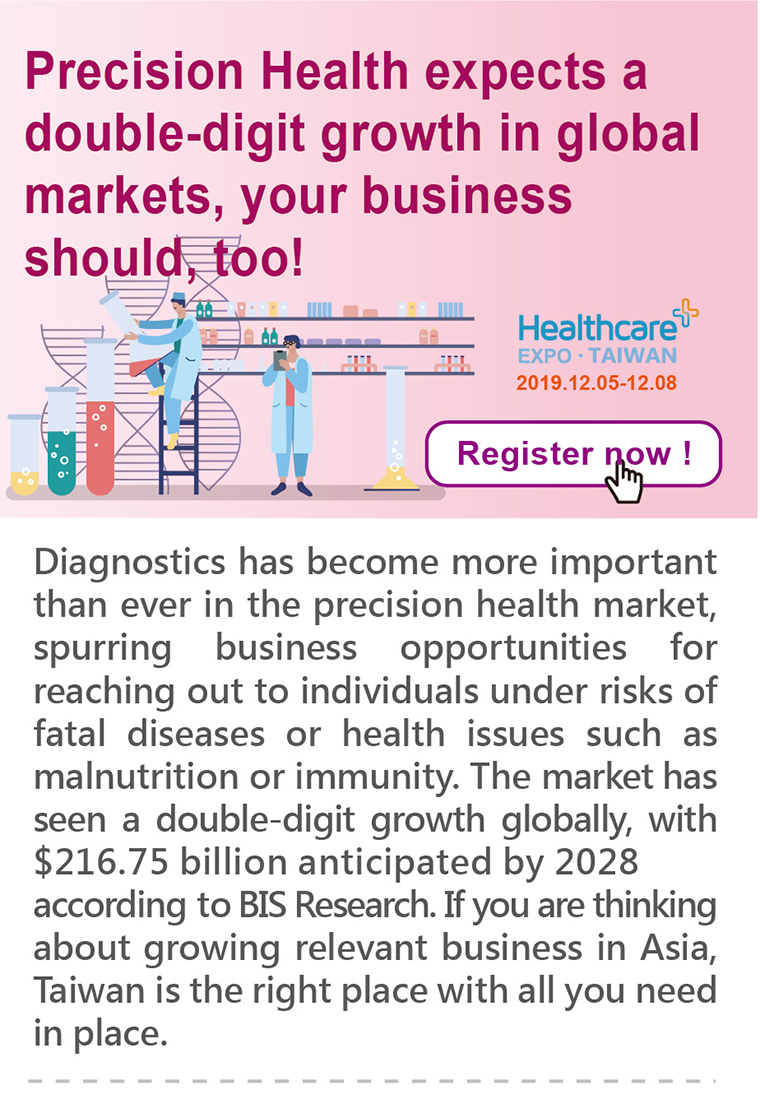 Precision Health expects a double-digit growth in  global markets, your business should, too!