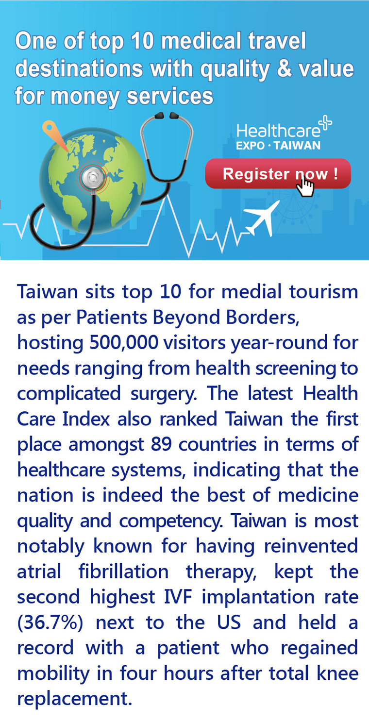 Taiwan the Top 10 Medical Travel  Destinations with Quality and Value for Money Services