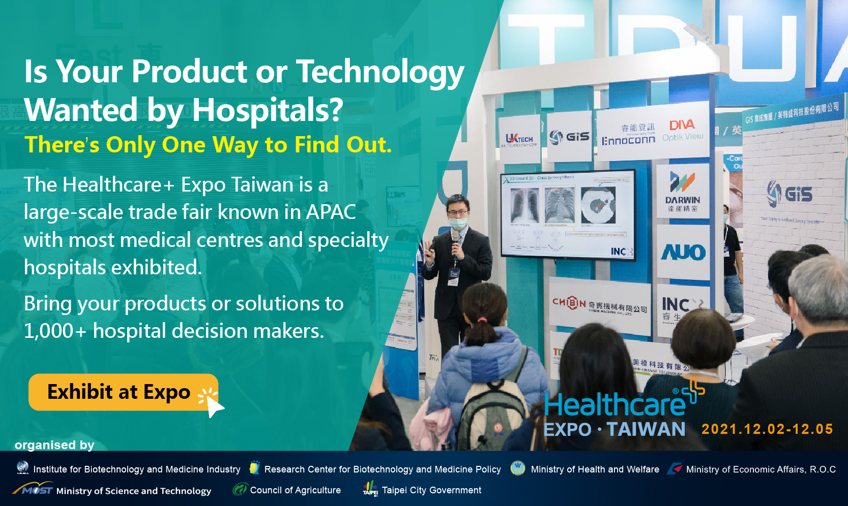 Healthcare+ Expo: Is your product or technology wanted by hospitals? Find out in here